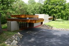 The Acres (1949) Frank Lloyd Wright | Michigan State Historic Preservation Office | Flickr