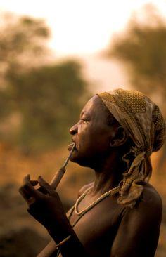 Donna, etnia Koma, #Cameroun