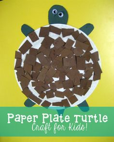 Fun, simple turtle craft for preschoolers, kindergarteners, and elementary students that you can do with supplies you probably already have! Check out step-by-step pictures here: http://www.mpmschoolsupplies.com/ideas/4844/paper-plate-turtle-craft/