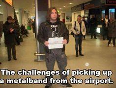 Metalhead challenges