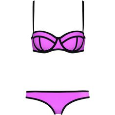 0d8b0632ca MILLY PRETTY IN PARIS (120 CAD) ❤ liked on Polyvore featuring swimwear