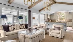 Living Room  Remodel   Living  Transitional by Talbot Cooley
