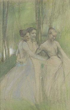 La ronde    Pascal-Adolphe-Jean Dagnan-Bouveret
