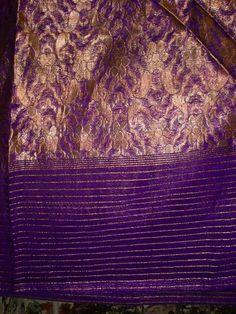 End of sari