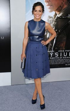 Alice Braga arriving at the world premiere of Elysium at the Regency Village Theatre in Westwood, California - Aug 7, 20