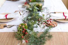 Ideas para poner una mesa requetebonita. #mrwonderful #tabledecor #christmas