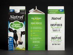 Natrel - Emballages on Behance