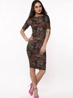 81910e86dd AX PARIS Paisley Print Bodycon Dress buy online from koovs.com in india  Paris Shopping