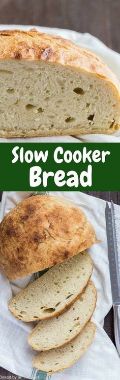Homemade Slow Cooker Bread is always much more delicious than store-bought, and this recipe couldn't be easier. via @introvertbaker