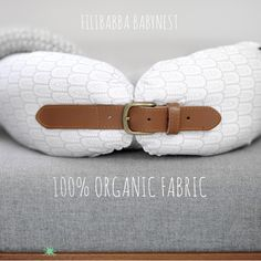 Filibabba Babynest - Indian varm grå