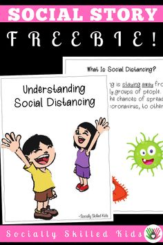 Do you have students or children who are confused about the term Social Distancing? It's something we are hearing about a lot, but do kids really understand what it is? This social story helps children with or without special needs, to better understand what Social Distancing is and why it is important. I hope this social story helps someone you care about. Social Skills Activities, Health Activities, What Is Social, School Social Work, Social Emotional Learning, Social Thinking, Social Stories, Beginning Of School, Kindergarten Classroom