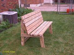Perfect! Convertible park bench/picnic table - by Joe Cumbo @ LumberJocks