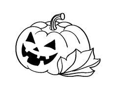 calabazas de halloween terrorificas para colorear  Buscar con