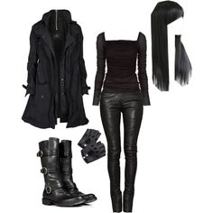 """Valkyrie Cain"" by ecoda-mei on Polyvore"