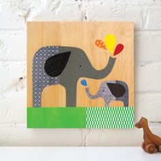 Elephant with Baby