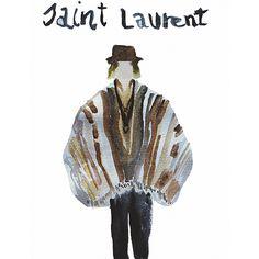 #saintlaurent #fashionillustration #mystupidsketchbook