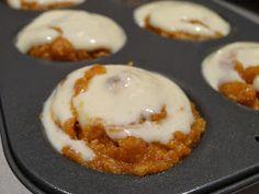Pumpkin Cheesecake Muffins-S