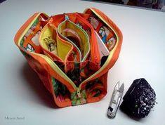 Jianel ... maison de couture: Tutorial progressif, étape par étape: Le sac à pochettes