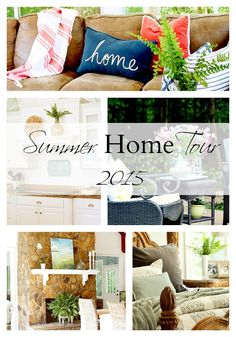 TOP THIS TOP THAT: Summer Home Tour 2015