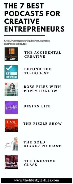 The best podcasts for creative entrepreneurs podcasts / creativity / business / social media / entrepreneurship / personal growth / tips / skills / learning media marketing business quotes Business Management, Business Planning, Business Tips, Online Business, Business Video, Business Journal, Business Quotes, Social Entrepreneurship, Start Ups