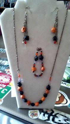 Halloween Jewelry Set with Swarovski Crystals $45 via @Shopseen