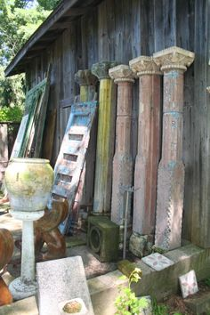Architectural salvage - some of my favorite finds - love this kind of stuff