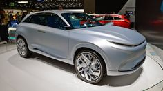 Hyundai FE Fuel Cell Concept previews next year's hydrogen SUV - Autoblog