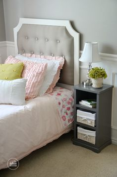 DIY for the Home: Tufted Headboard