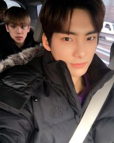 Just a dad driving his son to school...ya know how it is