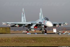 Sukhoi. The Russians have always made beautiful fighters.