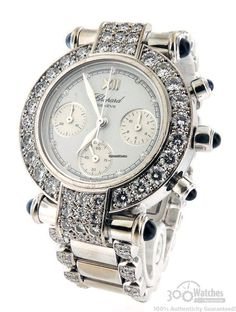 soulmate24.com Chopard Imperiale S38/3229-23 Diamond Chronograph Stainless Steel 32mm Watch $26,995 The 18k white gold bezel, lugs, and…