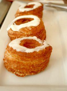Cronut Copycat Recipe @Chelsea Scotty Scott  i kinda wanna see what the big deal is, but holy calories batman!