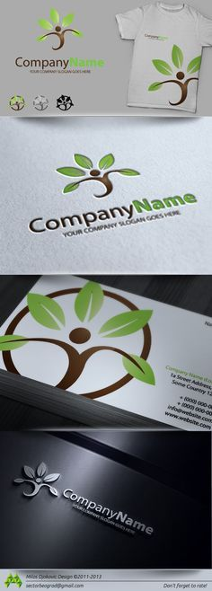 Buy Eco Health Logo by strmisa on GraphicRiver. This is a simple and effective Logo that can be used in any category like nature/health/ecology etc. IF YOU BUY THIS . Logos, Typography Logo, Logo Branding, Brand Identity, Design Shop, Design Logo, Graphic Design, Shop Logo, Preschool Logo
