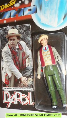 vintage dr who action figure