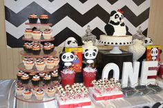 Panda birthday party! See more party ideas at CatchMyParty.com!