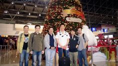 Last picture in Taiwan yesterday ... Happy December from a few of my Taiwanese disciples & I!