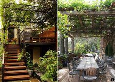 Exteriores con plantas: patios, terrazas, jardines, balcones... | conkansei.com
