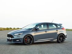 10 Fastest 4-Cylinder Cars for 2015 | The 2015 Ford Focus ST is the Blue Oval's hottest hatch - at least, until the Focus RS arrives next year. The Ford Focus ST is built around a 2.0-liter turbocharged four-cylinder engine that uses EcoBoost technology to churn out 252 horsepower and 270 lb-ft of torque, dumped to the front wheels via a six-speed manual transmission.