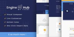 Engine Hub Marketing WordPress Theme by Jthemes Engine Hub ¨C Digital Marketing Agency WordPress Theme ¨C it is compatible to use for marketing,seo, corporate or business theme. Th