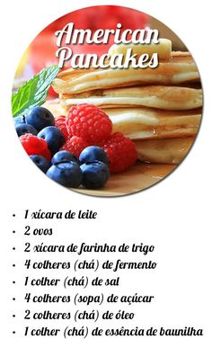 15 Fun Dinner Recipes To Make With Friends - HomelySmart American Pancakes, Tasty, Yummy Food, Brunch, I Foods, Sweet Recipes, Love Food, Food To Make, Vegetarian Recipes