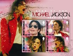 Michael Jackson in Memoriam 1958-2009 Collectible Postage Stamps Montserrat 1245 | eBay