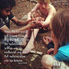 Wenn #kinder nicht gut #lernen können auf die Art wie wir sie #unterrichten sollten wir sie vielleicht auf die Art unterrichten wie sie lernen? Was meinst Du?