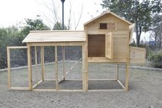Amazon.com: Chicken Poultry Cage,Hen House,Rabbit Hutch Coop 01 Large: Pet Supplies