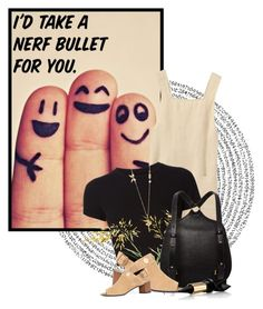 """I'd Take A Nerf Bullet For You"" by queenrachietemplateaddict ❤ liked on Polyvore featuring Getting Back To Square One, Pierre Hardy, Les Néréides and Bourjois"
