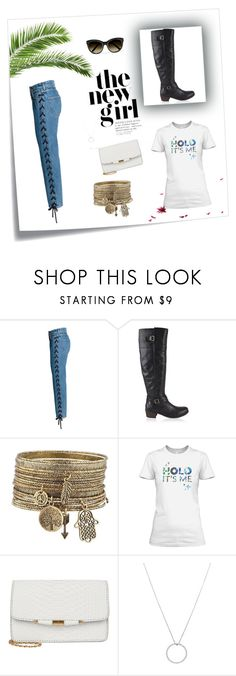 """""""New Girl"""" by livvydubs ❤ liked on Polyvore featuring Post-It, UGG, Roberto Coin and Chloé"""