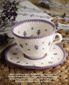 W663 Crochet PATTERN ONLY Tapestry