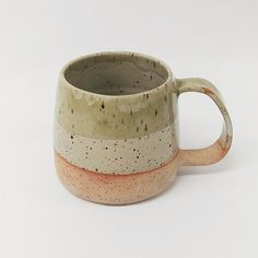 "16 Likes, 1 Comments - Anna Takeuchi (@anjuuceramics) on Instagram: ""mug shot no.4 ~details~ stoneware clay food safe glaze height - 8cm holds about 10-12oz. not…"""