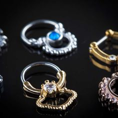 Make a fashion statement with our radiant septum clickers