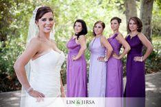 Coco Palms Pomona Wedding Photography | posing bridesmaids