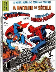 superman x homem aranha - 1977